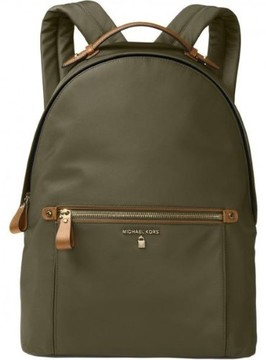 Michael Kors Kelsey Nylon Backpack - Olive - 30F7GO2B7C-333 - ONE COLOR - STYLE