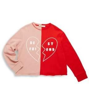 Stella McCartney Toddler's, Little Girl's & Girl's Best Friend Cotton Sweatshirt