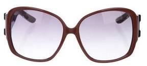 Saint Laurent Gradient Oversize Sunglasses