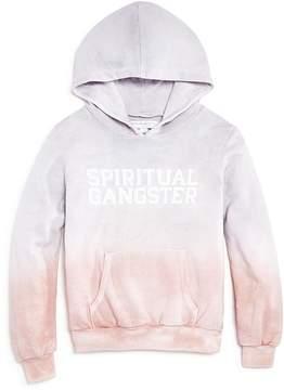 Spiritual Gangster Girls' Sunset Ombré Terry Hoodie - Big Kid