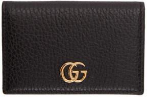 Gucci Black Petite Marmont Card Holder