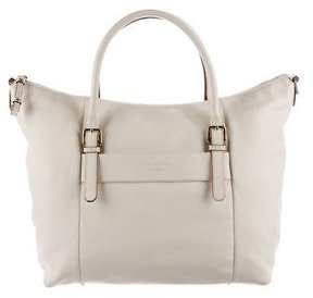 Kate Spade Pebbled Leather Satchel - NEUTRALS - STYLE