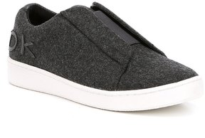 Donna Karan Bazel Slip-On Sneakers