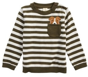 Tucker + Tate Infant Boy's Pocket Dog Sweater
