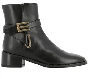 Etro Women's Black Leather Ankle Boots.