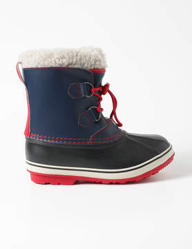Boden Leather Winter Boots