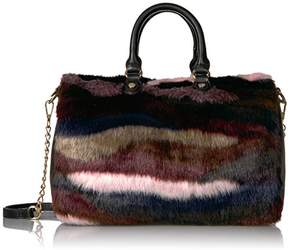 Betsey Johnson Faux Fuh-