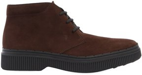 Tod's Suede Leather Lace-Up Boots