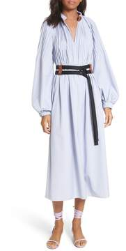Tibi Edwardian Double Belted Dress