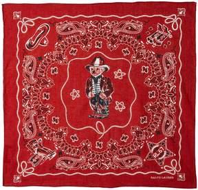 Polo Ralph Lauren Beardana Neckerchief Scarves