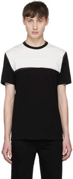 Maison Margiela Black and White Panelled T-Shirt