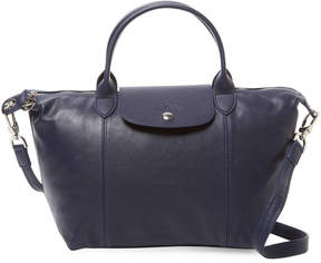 Longchamp Women's Le Pliage Cuir Small Tote