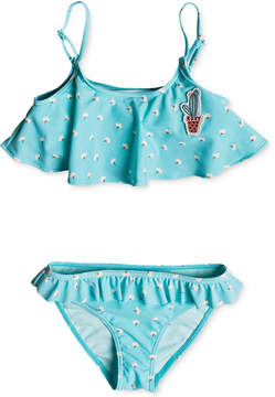 Roxy 2-Pc. Floral-Print Bikini, Toddler Girls