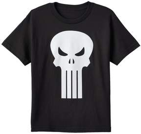 Marvel Boys 8-20 The Punisher Glow-in-the-Dark Tee