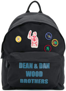 DSQUARED2 Dean and Dan Wood Brothers backpack