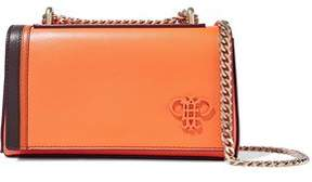 Emilio Pucci Appliquéd Leather Shoulder Bag