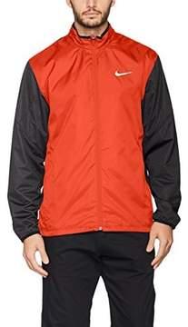 Nike Full Zip Shield Golf Jacket 2016 Max Orange/Black Heather/Black XX-Large
