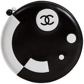 One Kings Lane Vintage Round Chanel Black & White Bag