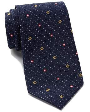 Kenneth Cole Reaction Traffic Sign Silk Tie