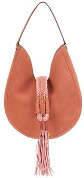 Altuzarra Ghianda Knot suede shoulder bag