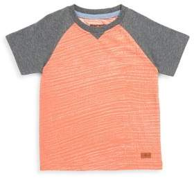 7 For All Mankind Little Boy's & Boy's Colorblock Tee