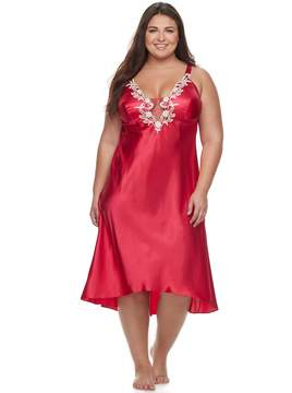 Flora Nikrooz Flora By Plus Size Flora by Stella Charmeuse Gown