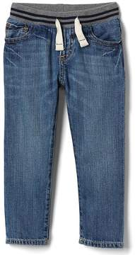 Gap Pull-on straight jeans