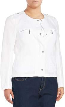 Basler Women's Long-Sleeve Zip-Front Jacket