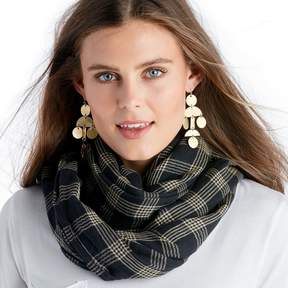 Sole Society Checkered Scarf