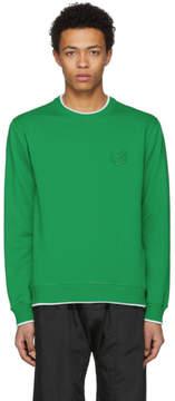 Kenzo Green Tiger Crest Sweatshirt