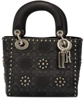 Christian Dior Lady Bag in Black Studded Calfskin