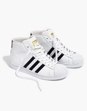 Madewell Adidas® SuperstarTM Pro Model High-Top Sneakers