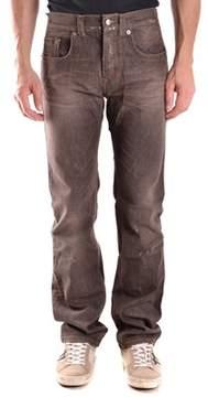 CNC Costume National Men's Brown Cotton Jeans.
