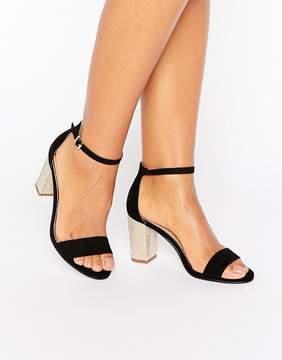 Miss KG Pearl Kitten heel Sandal