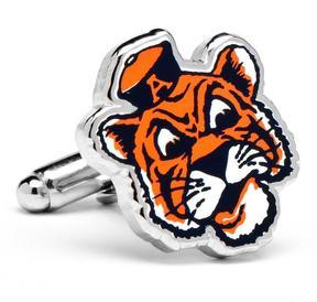 Ice Vintage Auburn University Tigers Cufflinks