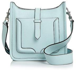 Rebecca Minkoff Mini Unlined Feed Leather Crossbody - 100% Exclusive - AQUAMARINE/SILVER - STYLE