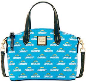 Dooney & Bourke Los Angeles Chargers Ruby Mini Satchel Crossbody - BLUE - STYLE
