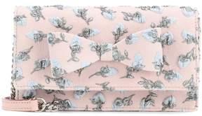 Rochas Embroidered shoulder bag