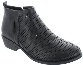 Restricted Black North Hill Ankle Boot
