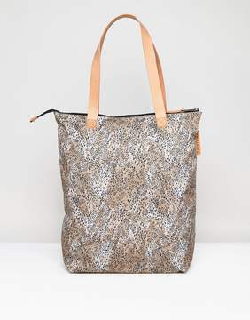 Eastpak Soukie Tote Bag In Leopard