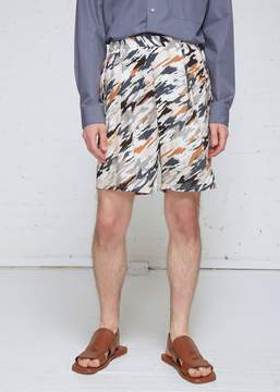 Lemaire Printed Elasticated Shorts
