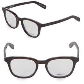 Saint Laurent 51MM Cat Eye Optical Glasses