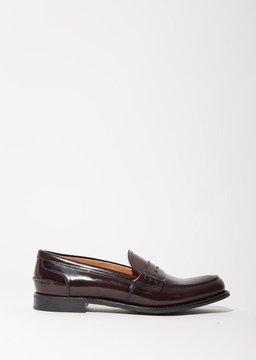 Church's Sally Loafers Burgundy Size: IT 40