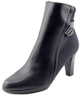 Alfani Velvett Women Round Toe Synthetic Black Ankle Boot.