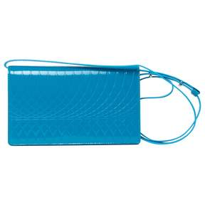 Paul Smith Turquoise Leather Clutch Bag
