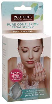 EcoTools Konjac Pure Complexion Facial Sponge, Deep Cleansing