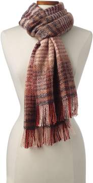 Lands' End Lands'end Women's Brushed Plaid Scarf