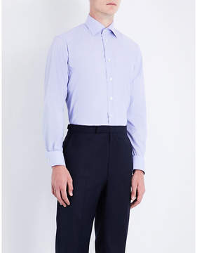 Eton Contemporary-fit striped cotton shirt