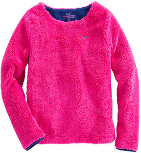 Vineyard Vines Girls Fuzzy Sweatshirt