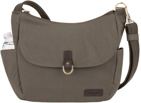 Travelon Anti-Theft Courier Bucket Hobo Bag